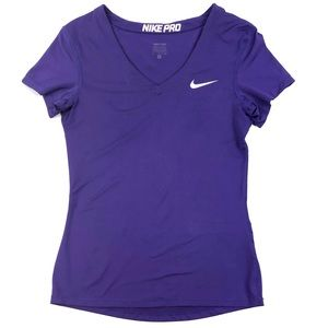 Nike Pro Core Fitted V-Neck Tee